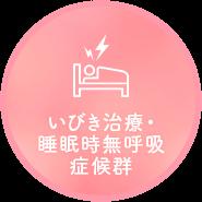 いびき治療・ 睡眠時無呼吸症候群